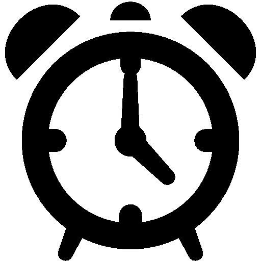 Very Basic Alarm Clock Icon Windows Iconset