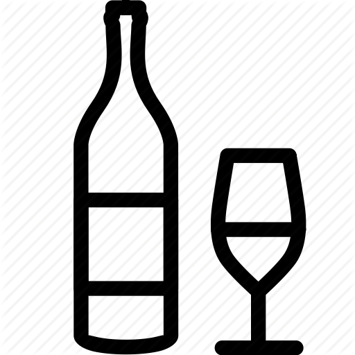 Alcohol, Drink, Drinking, Glass, Vine, Wine Icon