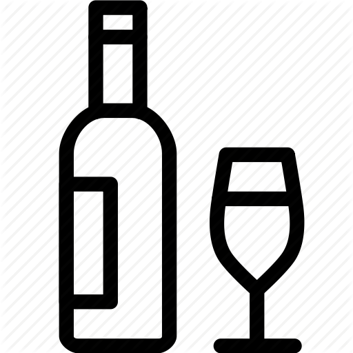Alcohol, Drink, Glass, Vine, Wine Icon