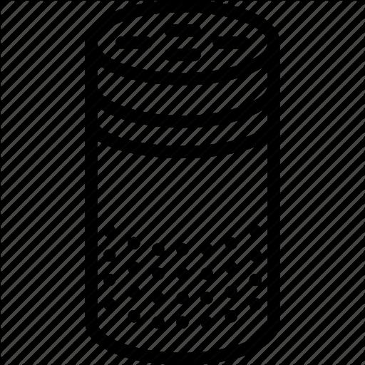 Alexa, Amazon, Devices, Echo, Outline Icon