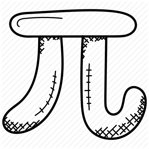 Algebra Symbol, Counting, Mathematical Constant, Pi Icon