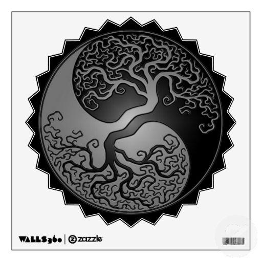 Yin Yang A Taijitu Composition Where The Dot Elements Where