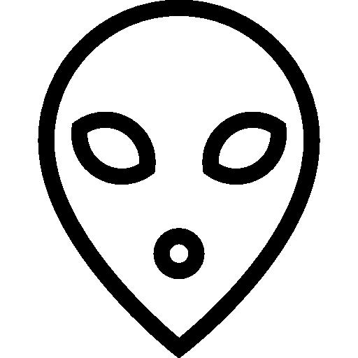 Alien Icon Laboratory Stuff Lineal Freepik