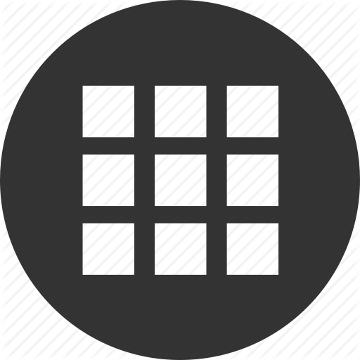 Apps, Grid, Menu Icon