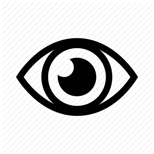 Eye, Seeing, Sight, View Icon