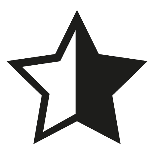 Star Icon Silhouette