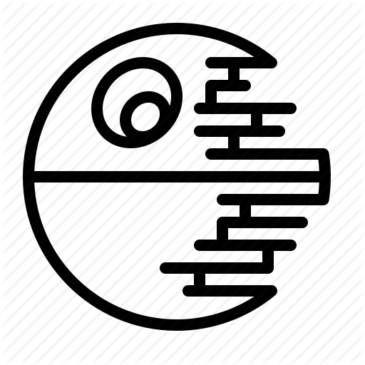 Death Star Icon Transparent Png Clipart Free Download