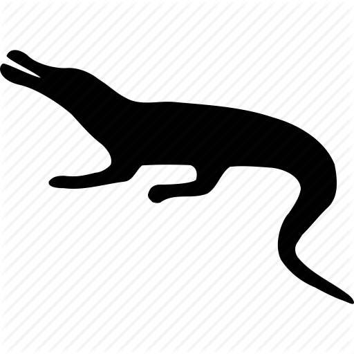 Alligator, Animal, Creeper, Croco, Crocodile, Reptile, Reptilian Icon