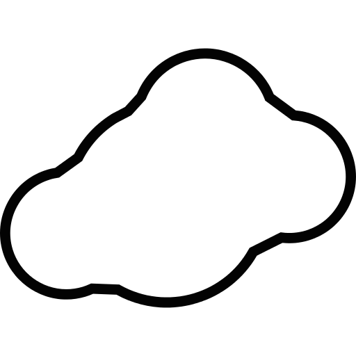 Cloud Alone Png Icon