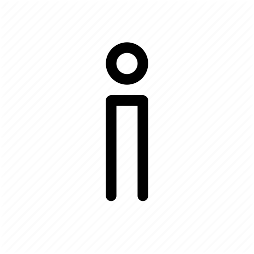 Alone, Individual, One, Solo, Student Icon