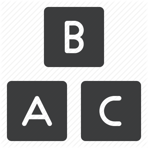 Alphabet Icons Png