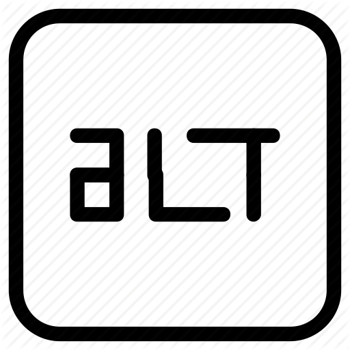 Alt, Function, Key Icon