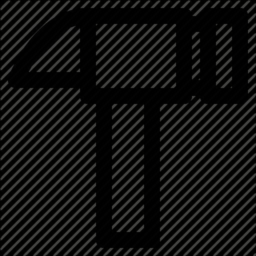 Alternative, Construction, Equipment, Hammer, Work Icon