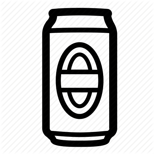 Alchohol, Aluminum, Beer, Beer Can, Can, Drink, Soda Icon