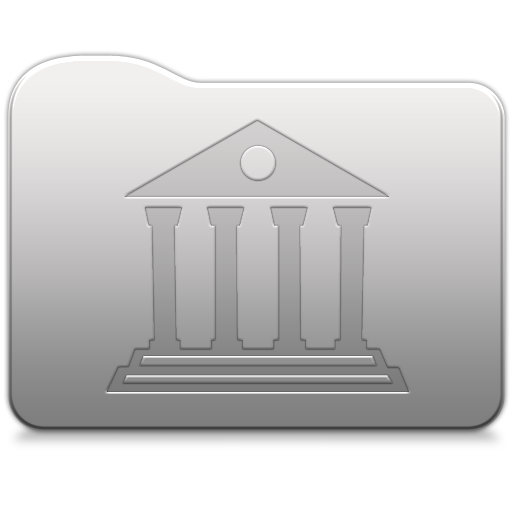 Aluminum Folder Library Icon Free Download As Png And Icon Easy