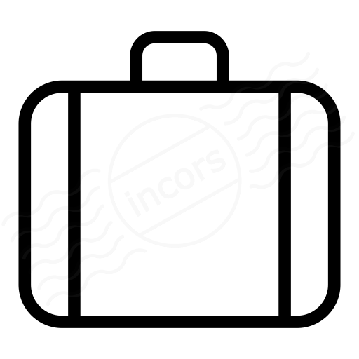 Iconexperience I Collection Suitcase Icon