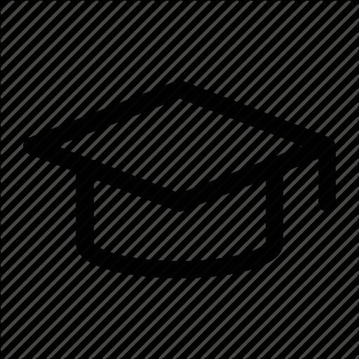Alumni, Board, Graduate, Mortar, School Icon