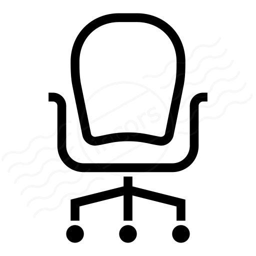 Iconexperience I Collection Office Chair Icon