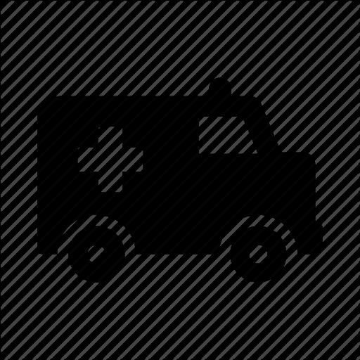 Ambulance, Truck Icon