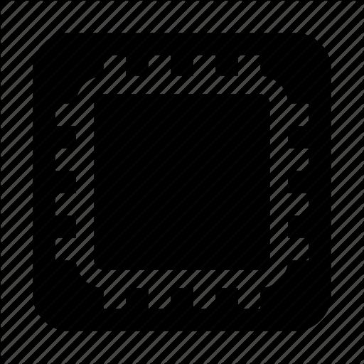 Amd, Chip, Cpu, Intel, Microchip, Processor, Xenon Icon