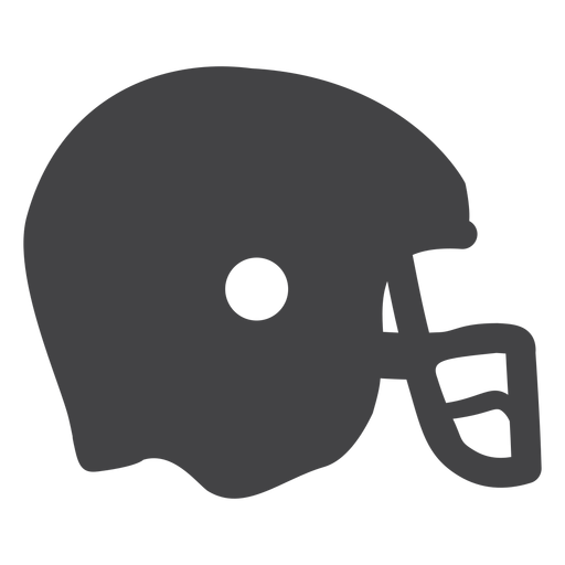 American Football Helmet Flat Icon