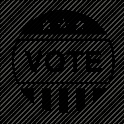 American, Badge, Election, Politics, United States, Usa, Vote Icon