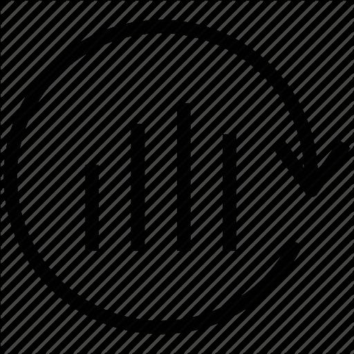 Analysis Update, Arrow Circle, Bar Chart, Bar Graph, Updating