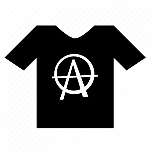 Anarchy, Man, Punk, Tshirt, Wear Icon