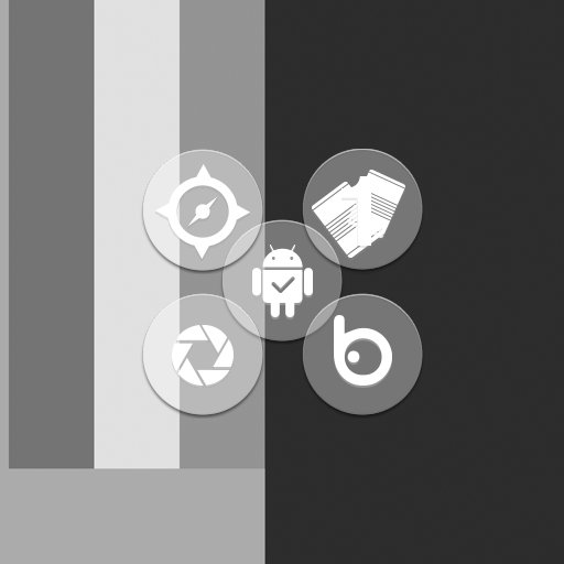 Icon Pack White Circle Appstore For Android