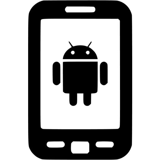 Black Android Icon