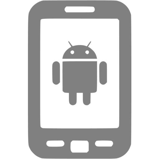 Gray Android Icon
