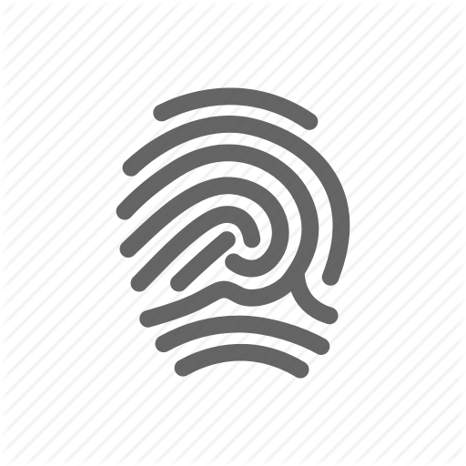 Pictures Of Fingerprint Icon Png