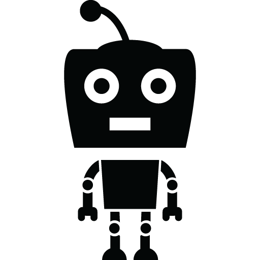 Bot Standing Icon Transparent Png