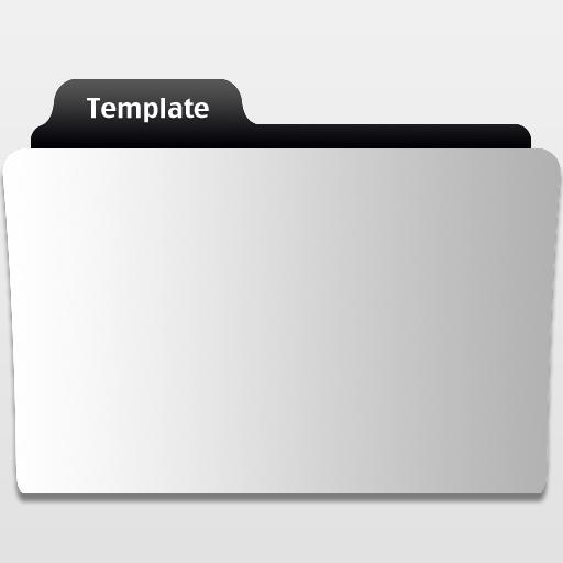 Movie Folder Template