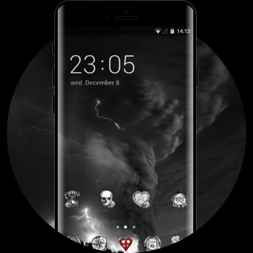 Thunder Theme Skul Free Android Theme U Launcher