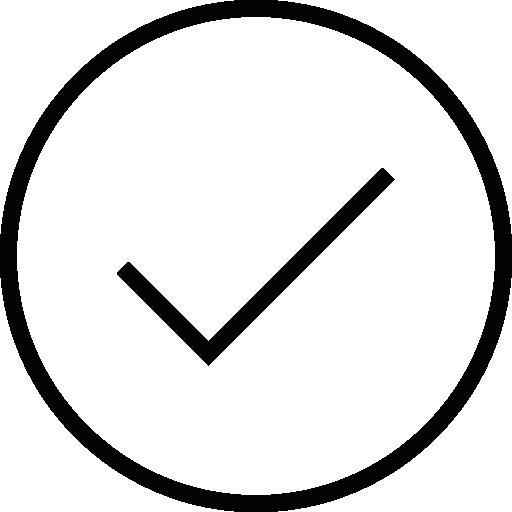 Tick Inside A Circle