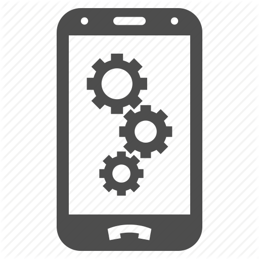 Android Settings, Automation, Factory Options, Gear, Mobile, Phone
