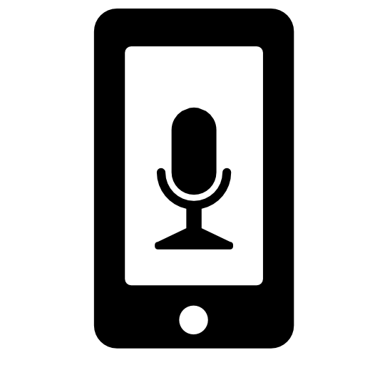 Android Microphone Icon