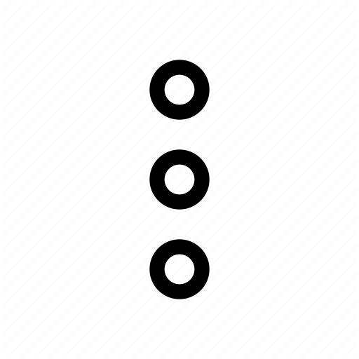 Android, Dots, Menu, More, Show, Three Icon