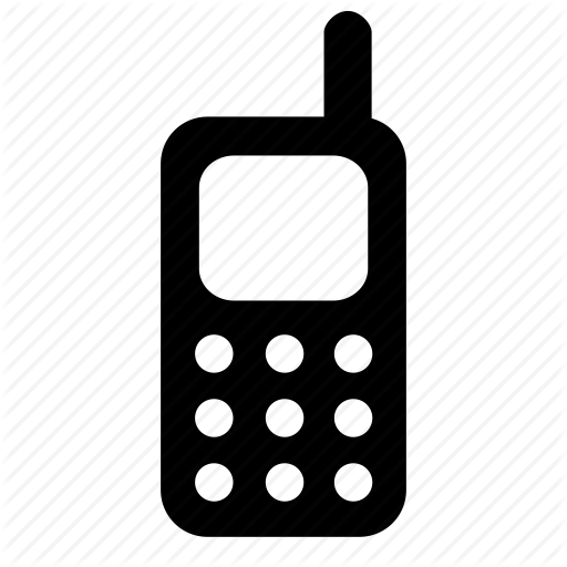 Cell Phone Icon Transparent Png Clipart Free Download
