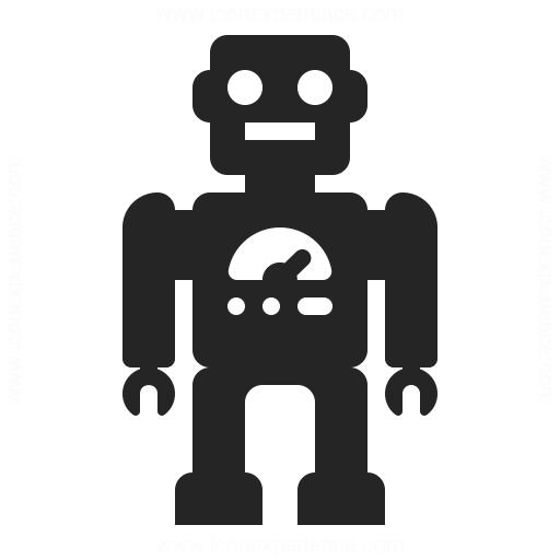Robot Icon Iconexperience