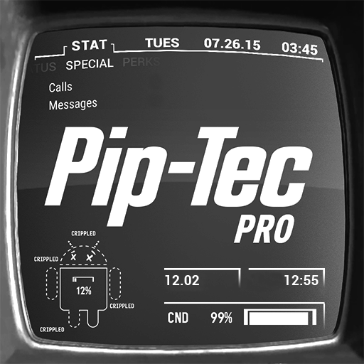 Download Piptec White Icons Live Wall