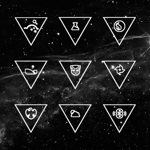 Sparks Of Galaxy Icon Pack Apk