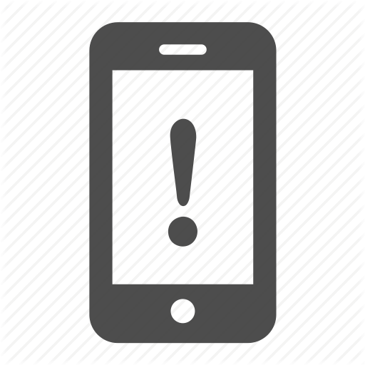 Phone Alert Symbols