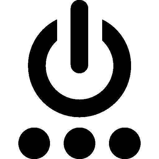 Interface Power Icon
