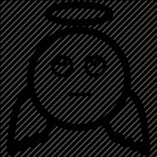 Angel, Bless, Emoji, Emoticon, Heavenly, Kind Icon