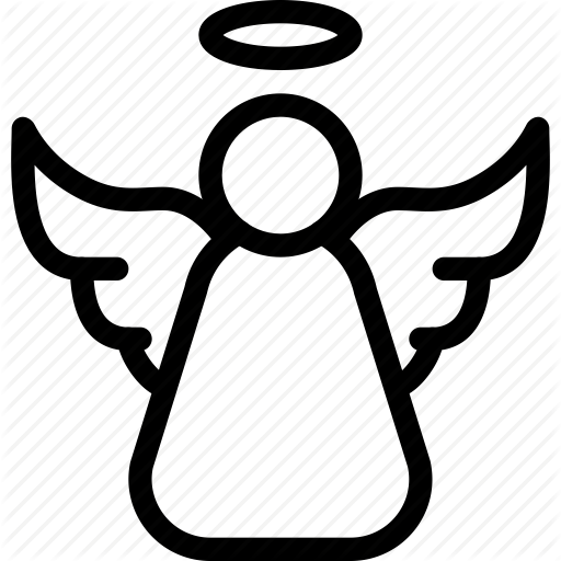 Angel, Christmas, Decoration, Gift, Wings Icon