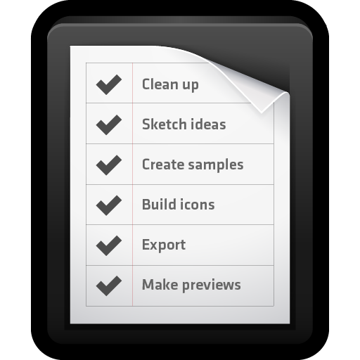 List, Mac, Notes, Reminders, To Do Icon