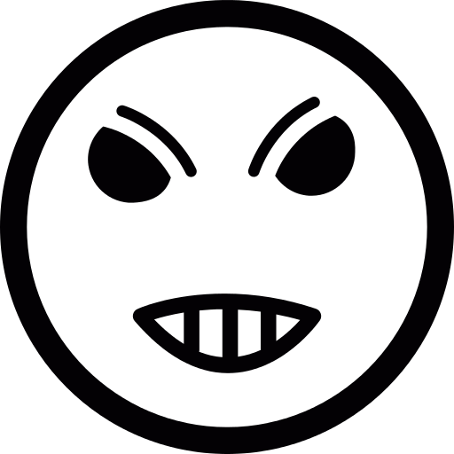 Angry Emoticon Png Icon