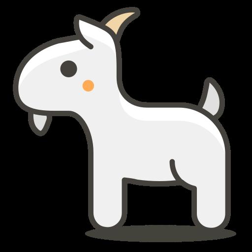 Goat, Animal Icon Free Of Another Emoji Icon Set